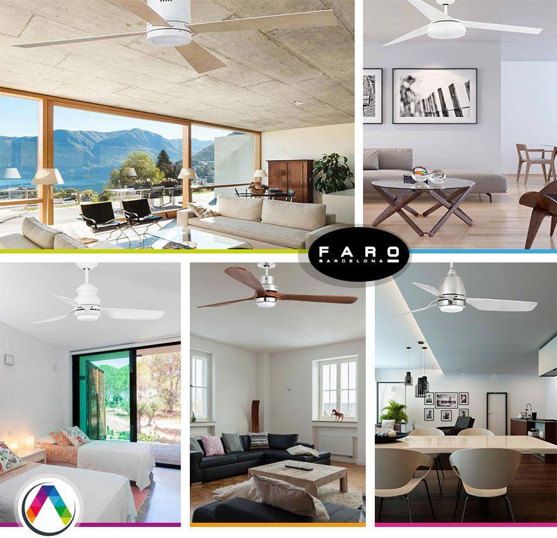 Ventilador de techo con luz l mpara ventilador de techo for La casa del led