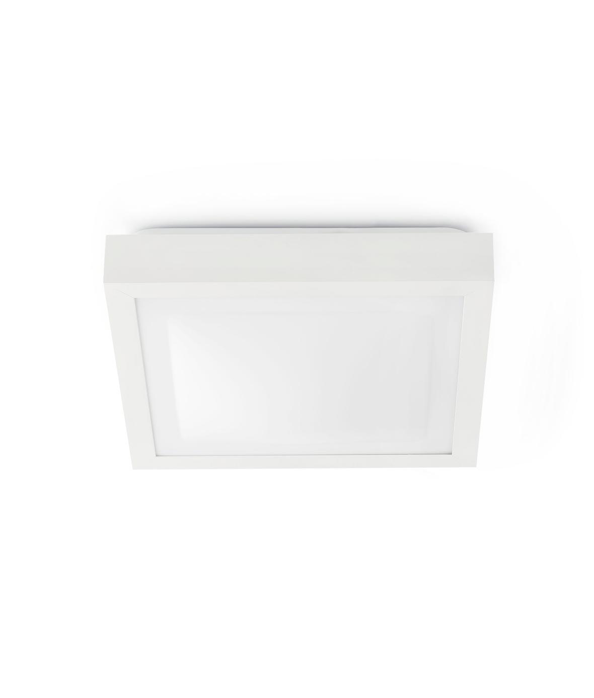 Plafón blanco 1 luz TOLA