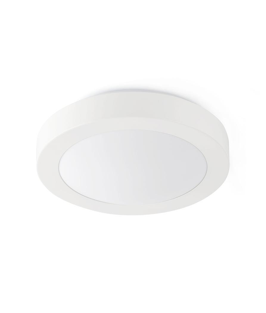 Plafón blanco 2 luces LOGOS