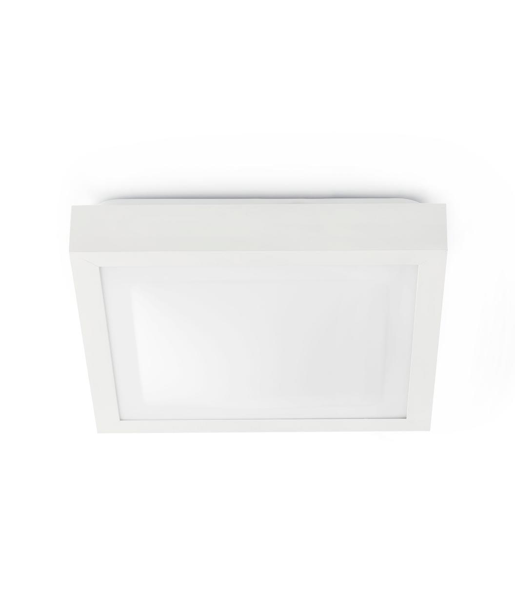 Plafón blanco 2 luces TOLA