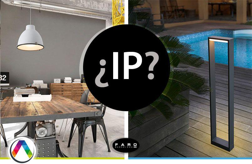 Protección IP de una lámpara - La Casa de la Lámpara