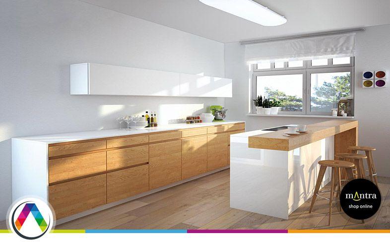 Consejos de iluminaci n para cocinas la casa de la l mpara - Luces para cocina ...