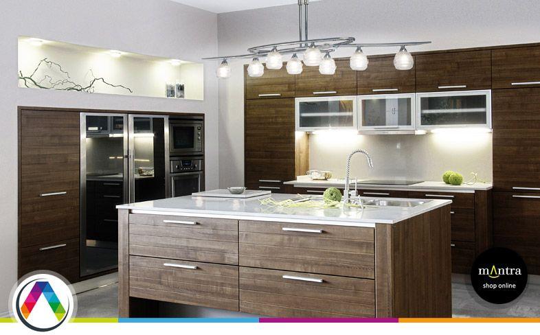Consejos de iluminaci n para cocinas la casa de la l mpara - Lamparas colgantes para cocina ...