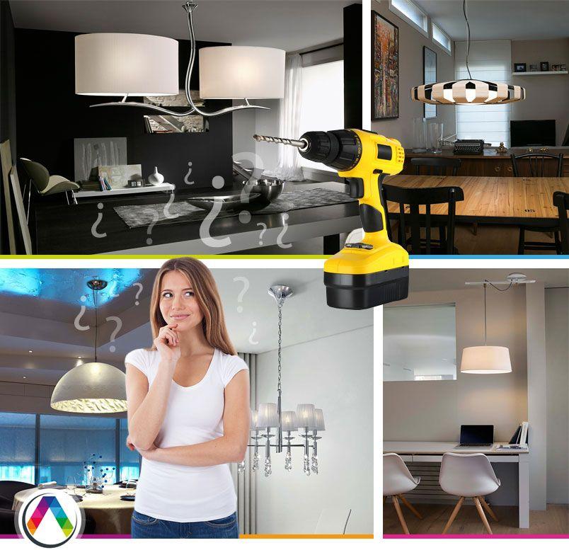 Cómo instalar una lámpara - La Casa de la Lámpara