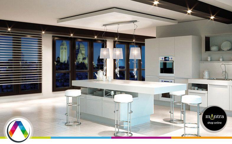 Consejos de compra e iluminaci n para cocinas - Iluminacion para cocina comedor ...