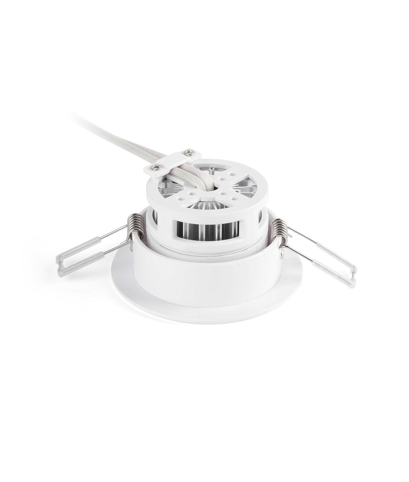 Empotrable orientable LED KOI blanco detalle