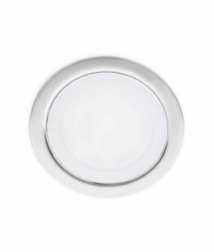 Foco empotrable LED cromo MINI