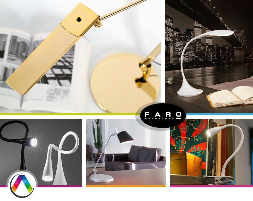 """Modelos de lámparas flexos que puedes encontrar en la sección de """"Flexo Manía"""" en La Casa de la Lámpara"""