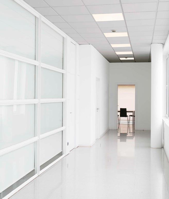 Panel de techo LED luz cálida FLAT ambiente