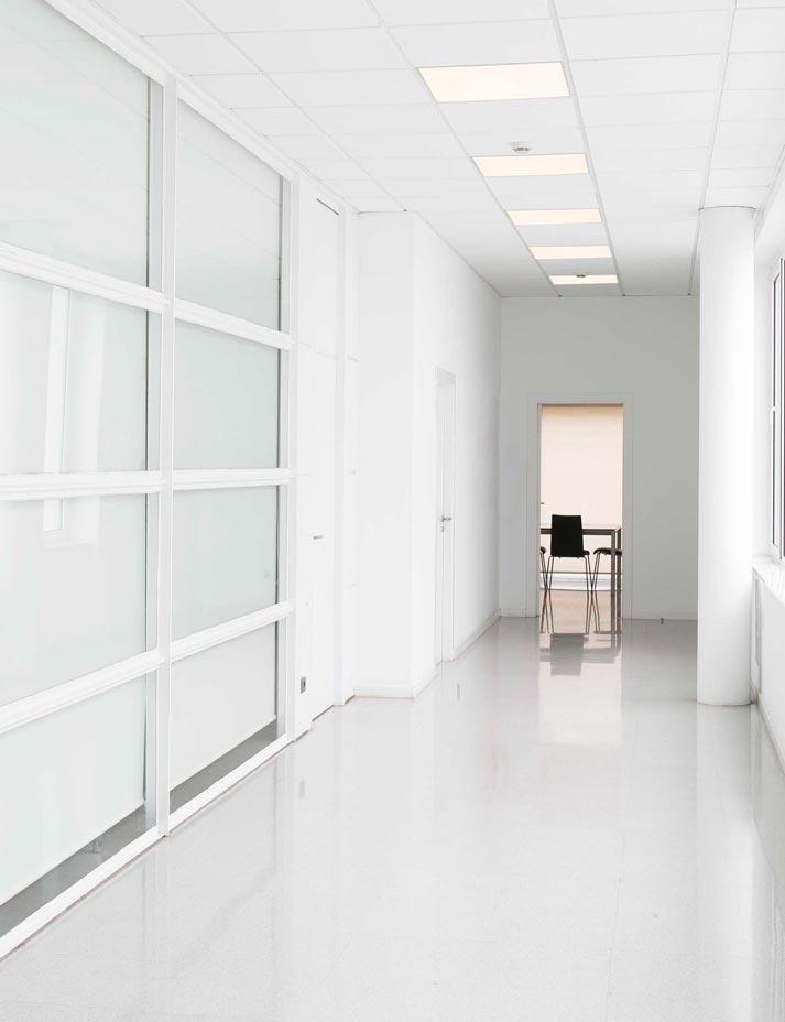 Lámpara panel LED luz fría FLAT ambiente