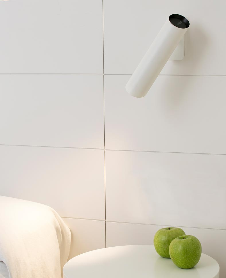 Aplique de pared blanco 1 luz LINK ambiente
