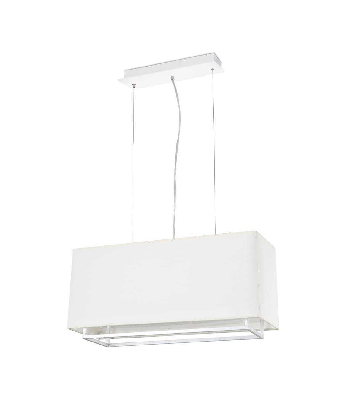 Lámpara colgante blanca VESPER