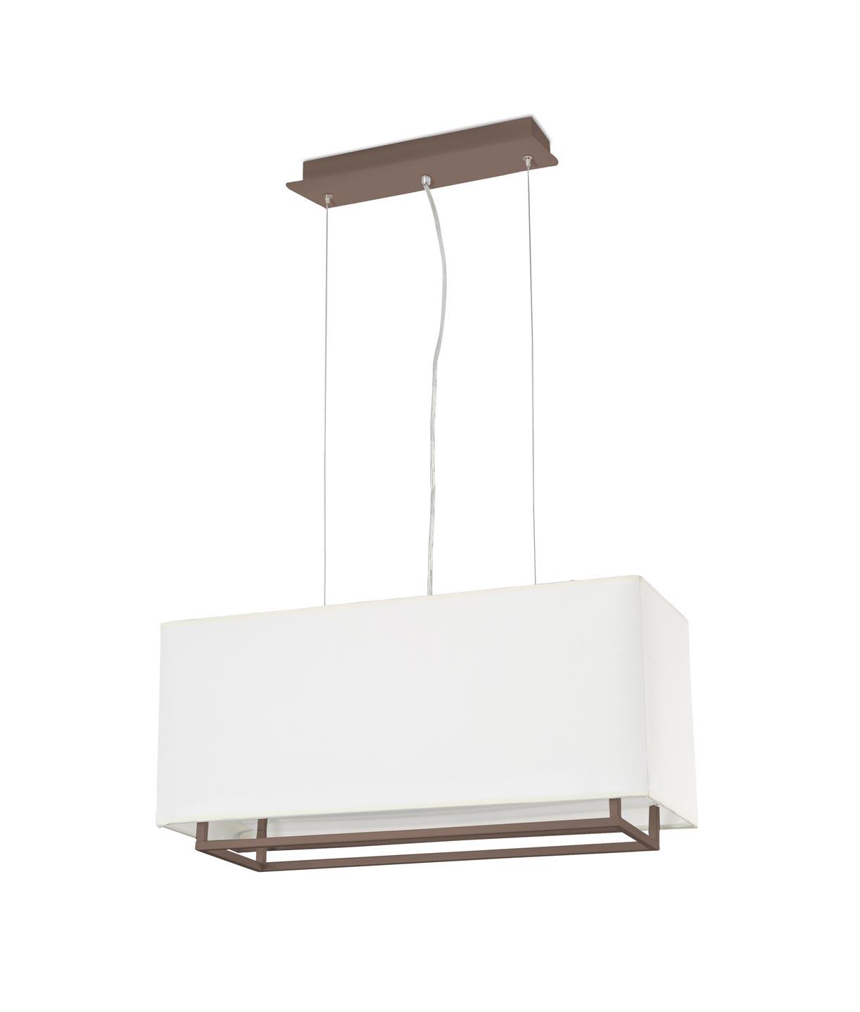 Lámpara colgante marrón VESPER