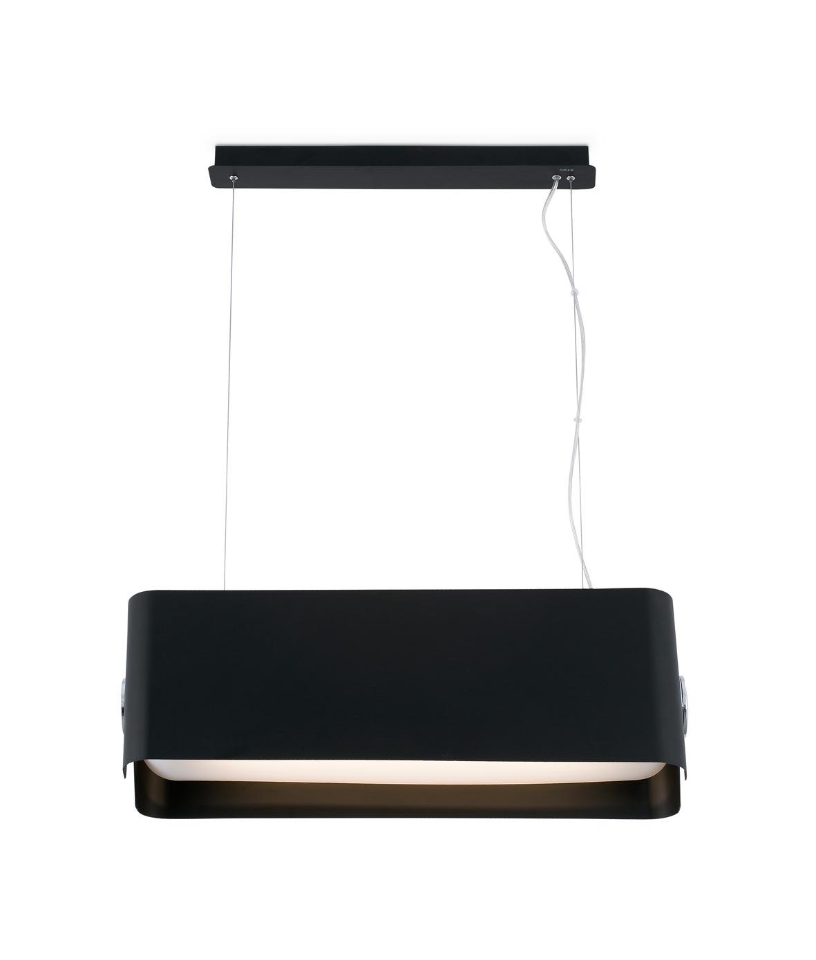 Lámpara colgante negra grande PAPILLON 2
