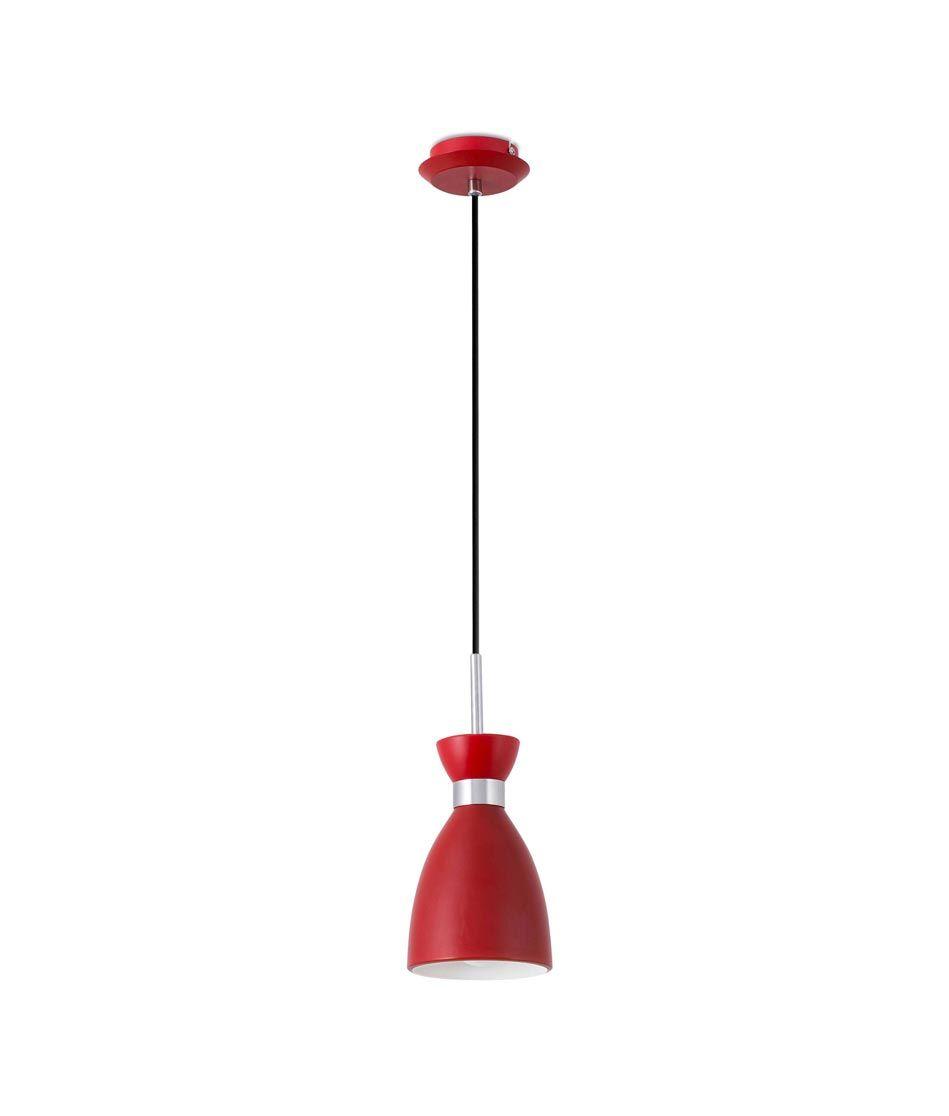 Lámpara colgante rojo RETRO