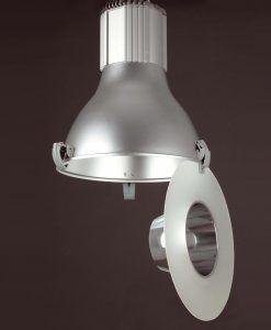 Lámpara colgante TRANSFER gris detalle