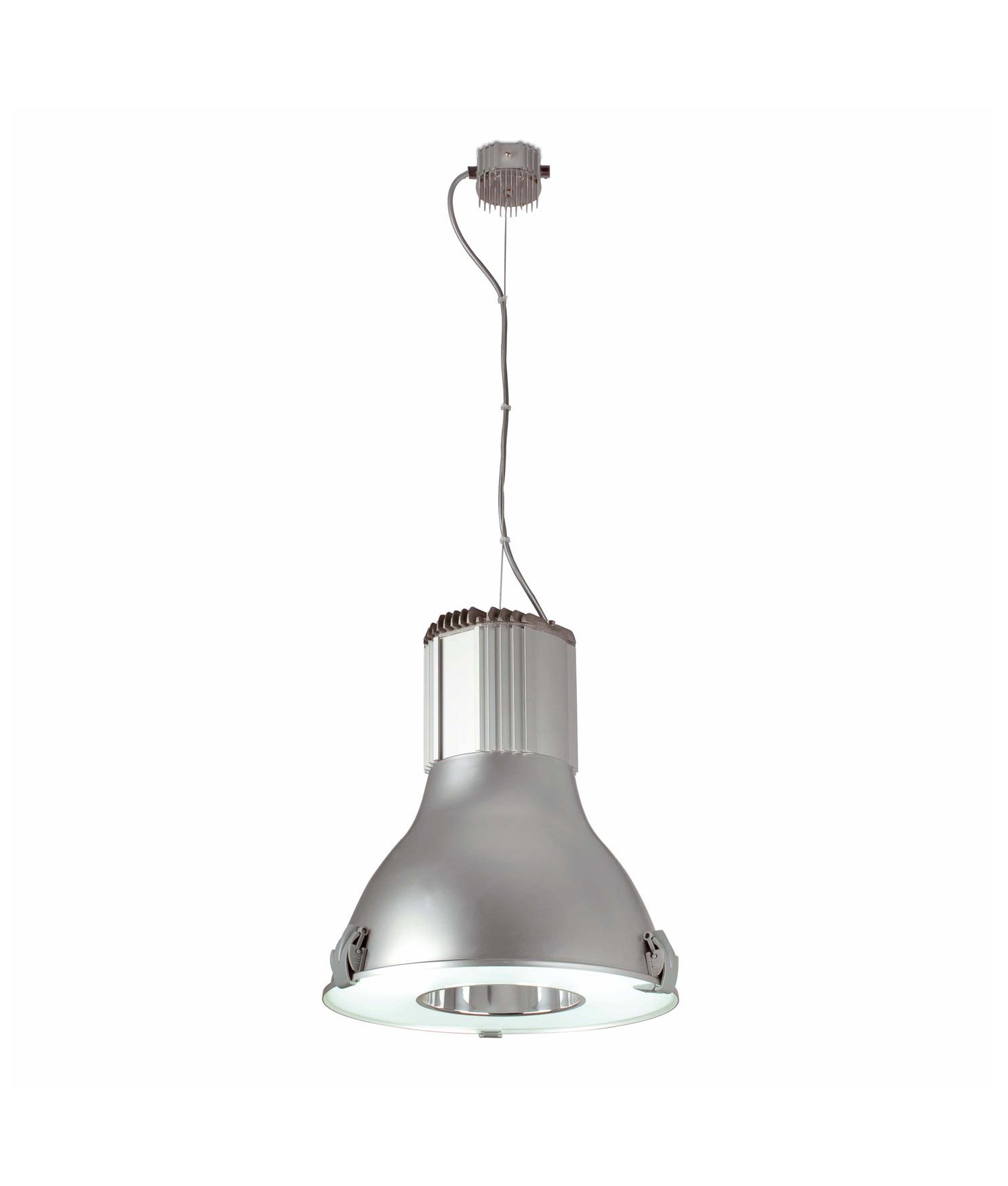 Lámpara colgante TRANSFER gris