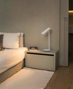 Lámpara de mesa blanca LINK ambiente