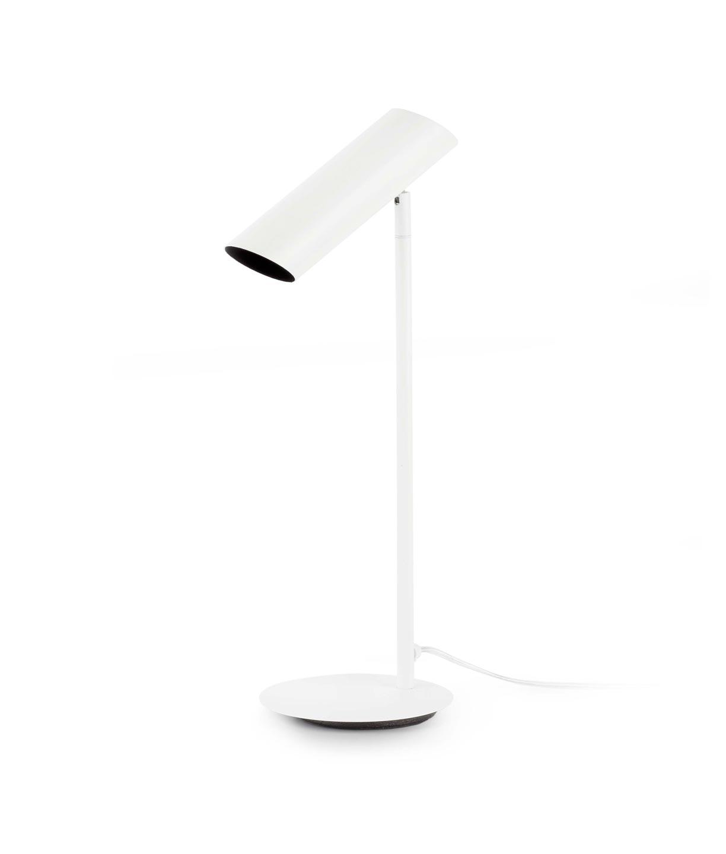 Lámpara de mesa blanca LINK