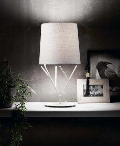 Lámpara de mesa blanca TREE ambiente