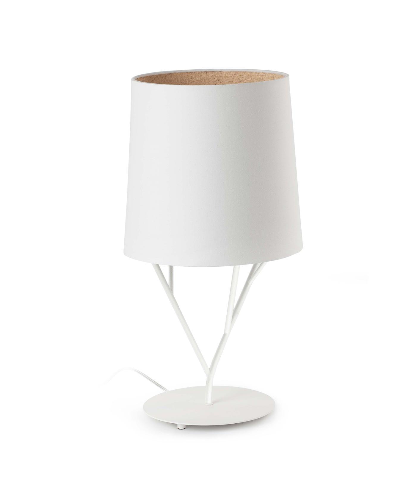 Lámpara de mesa blanca TREE