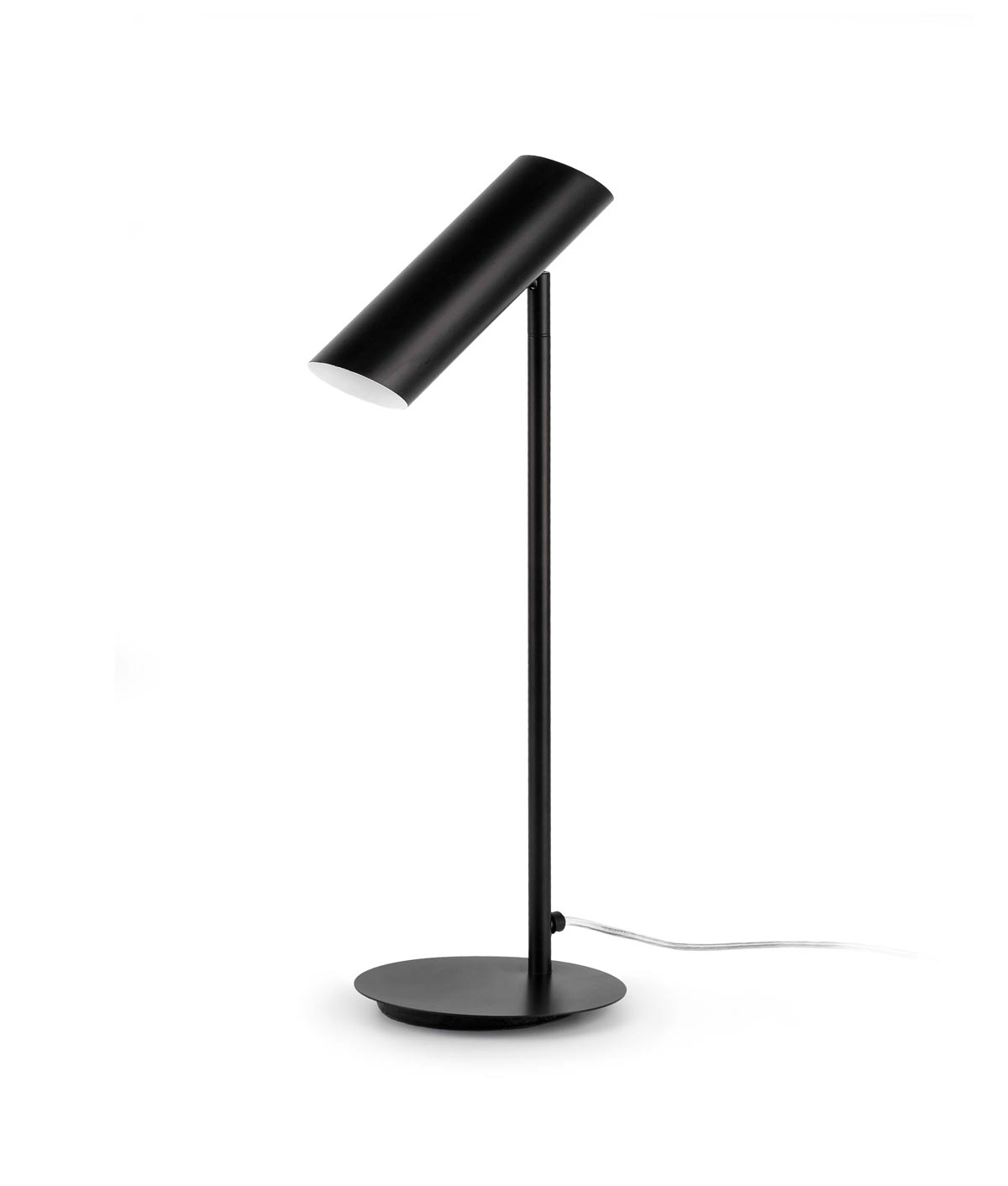 Lámpara de mesa negra LINK