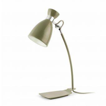 Lámpara de mesa verde RETRO