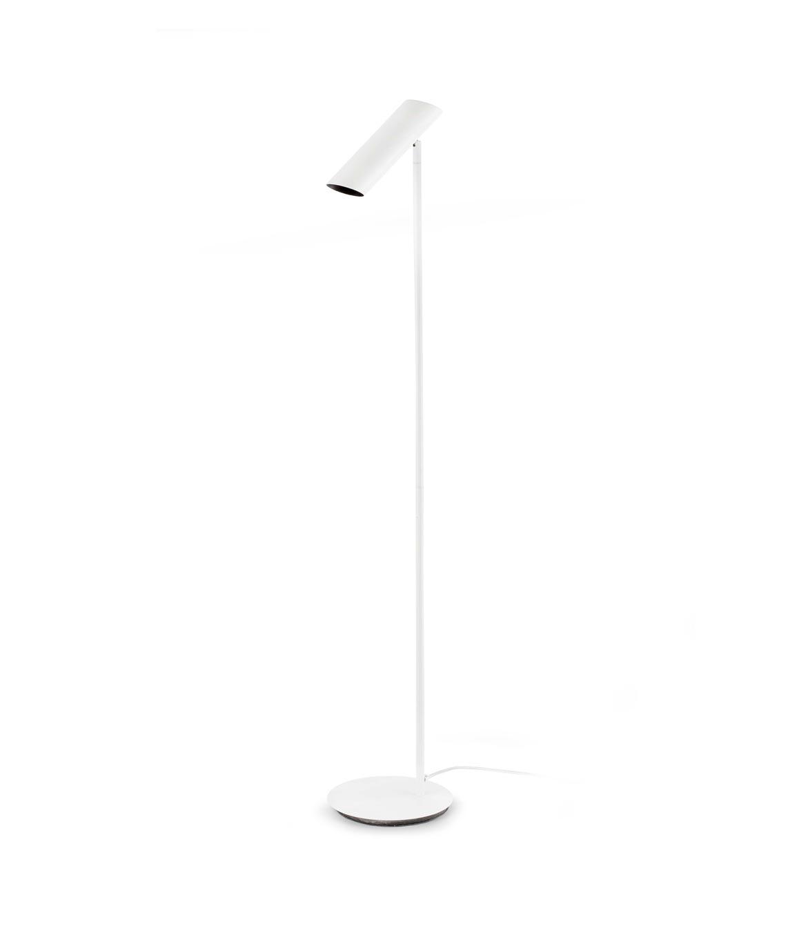 Lámpara de pie blanca LINK