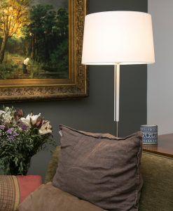 Lámpara de pie blanca VOLTA ambiente 2