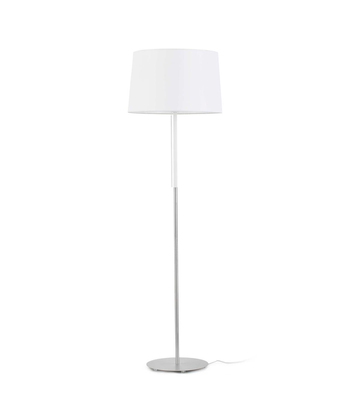 Lámpara de pie blanca VOLTA