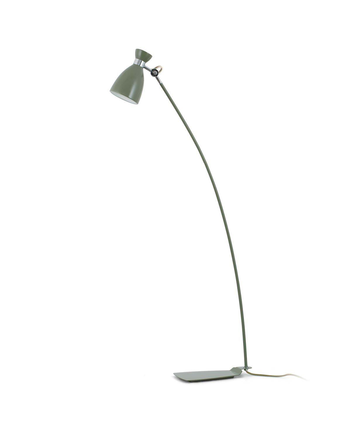 Lámpara de pie verde RETRO