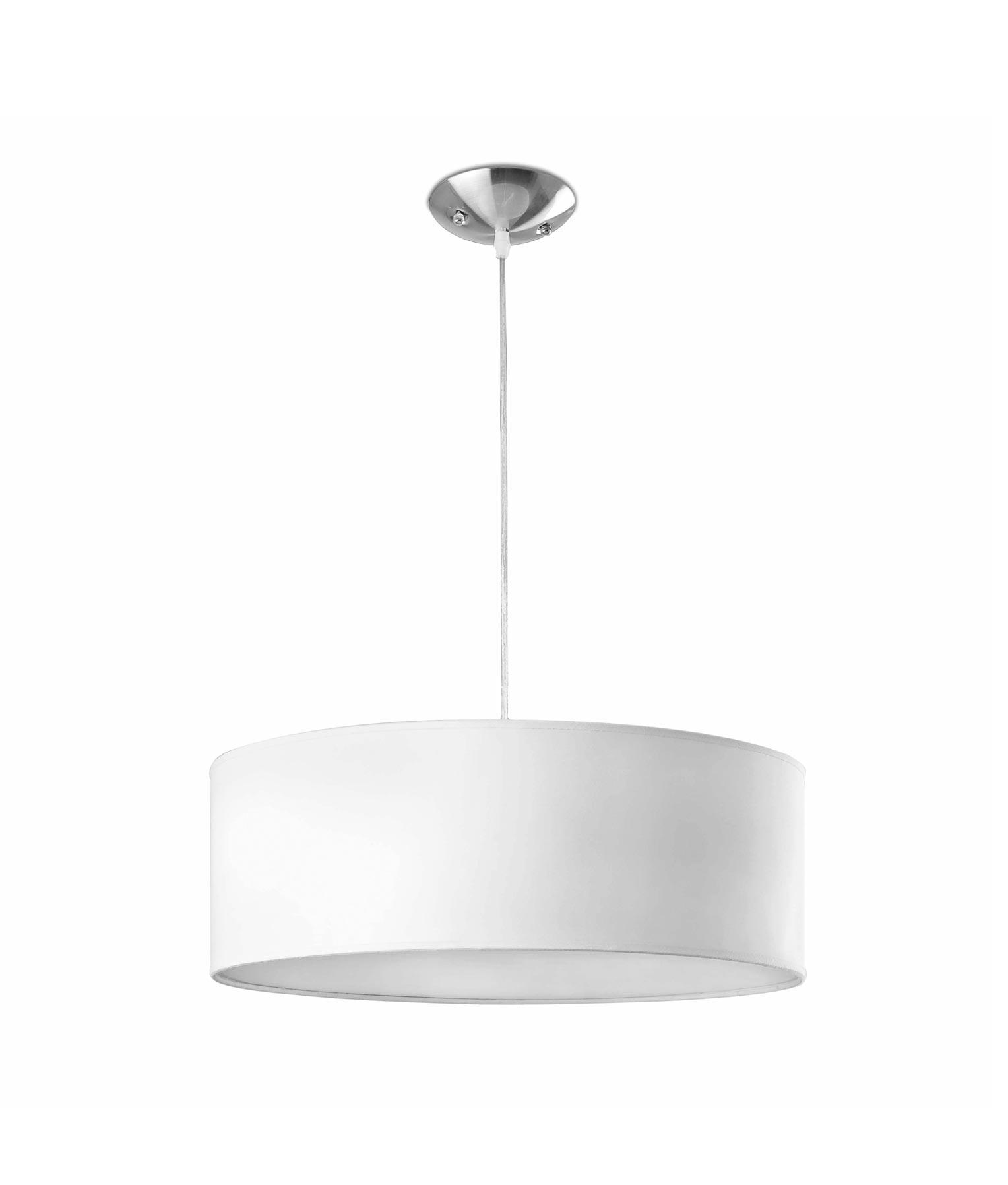 Lámpara de techo blanca SEVEN 3 luces