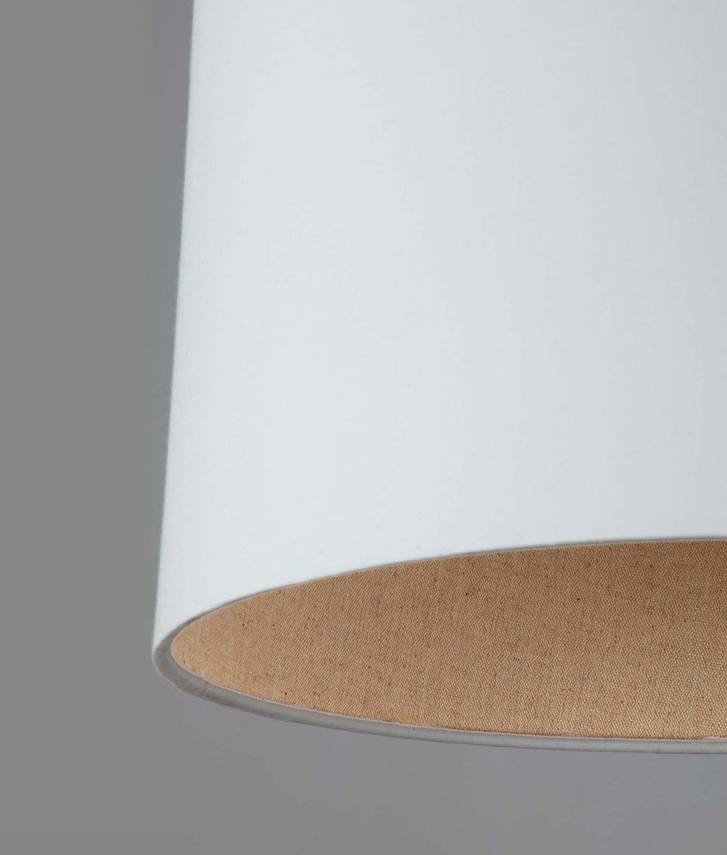 Lámpara de techo blanca TREE detalle