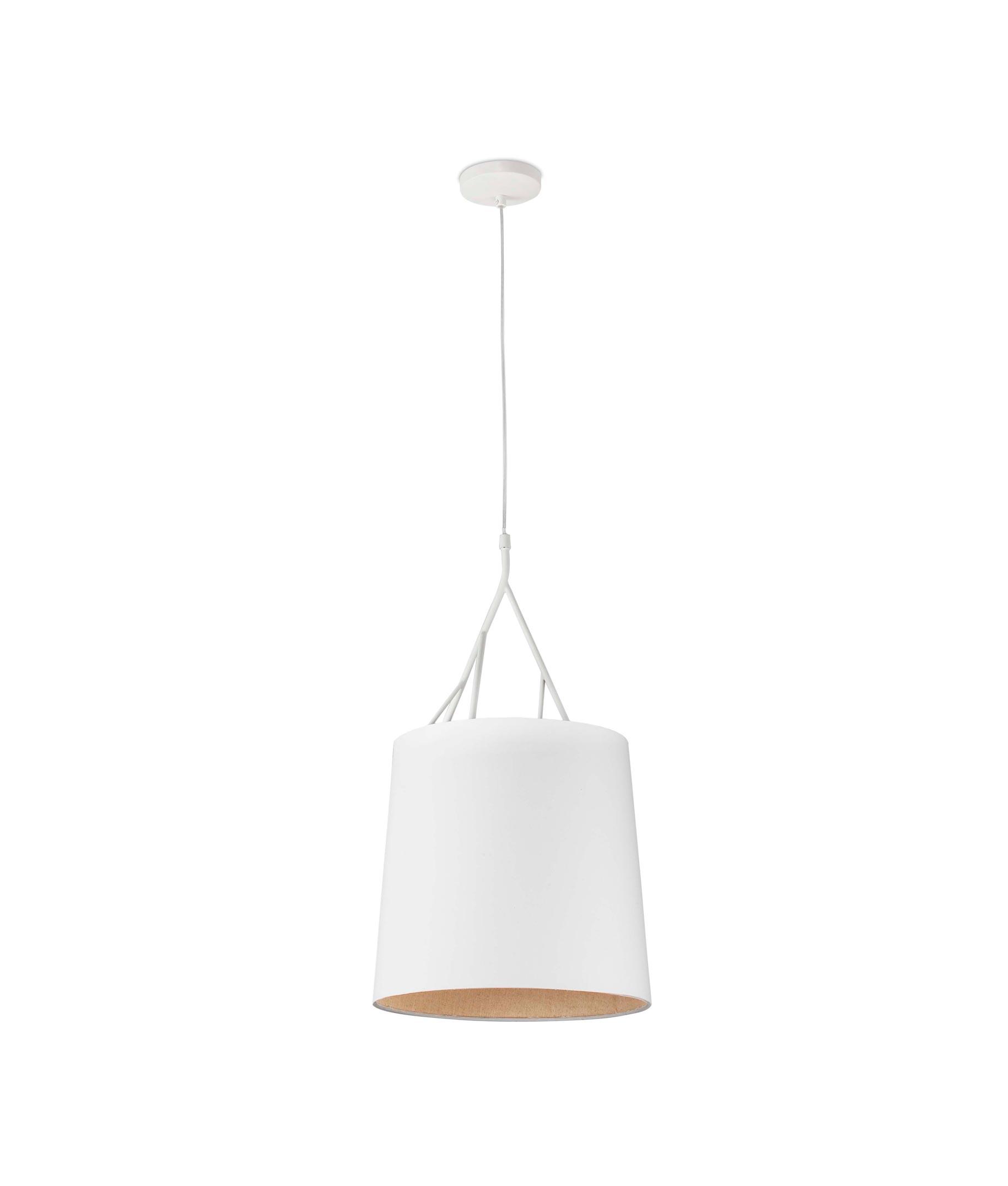 Lámpara de techo blanca TREE