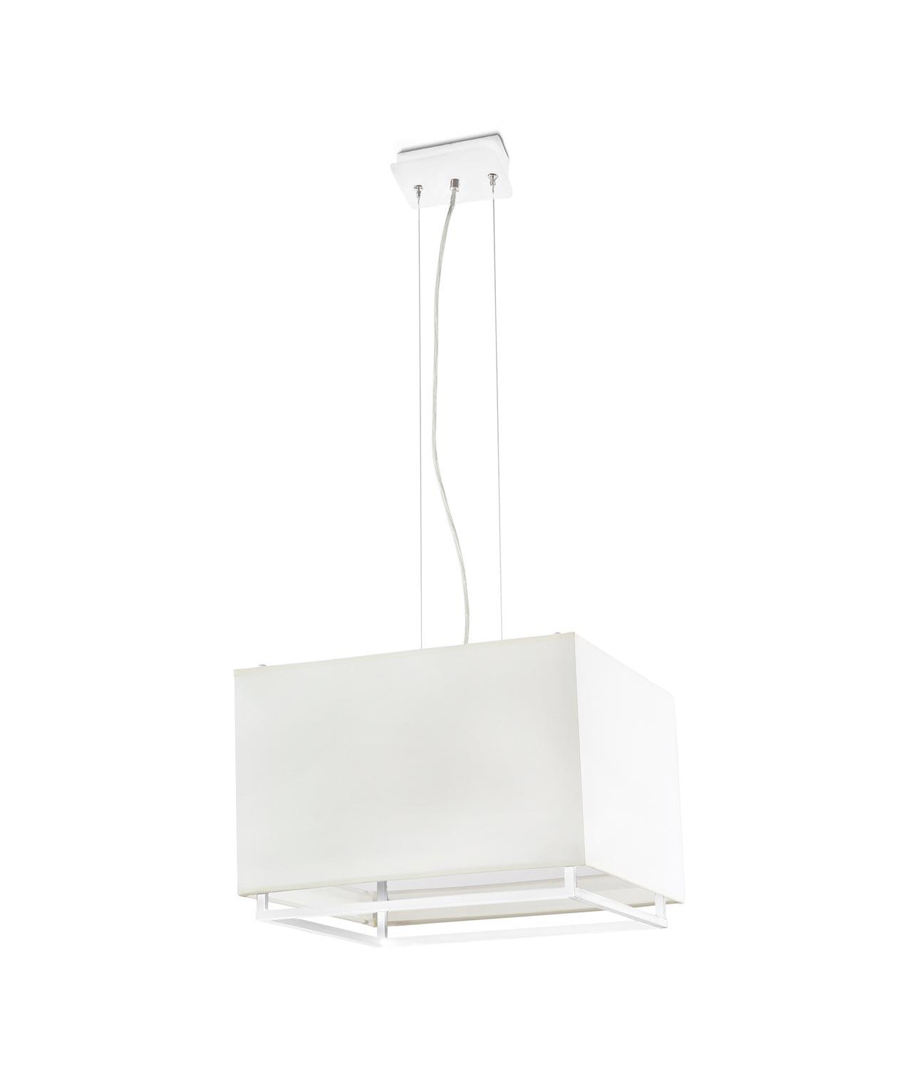 Lámpara de techo blanca VESPER