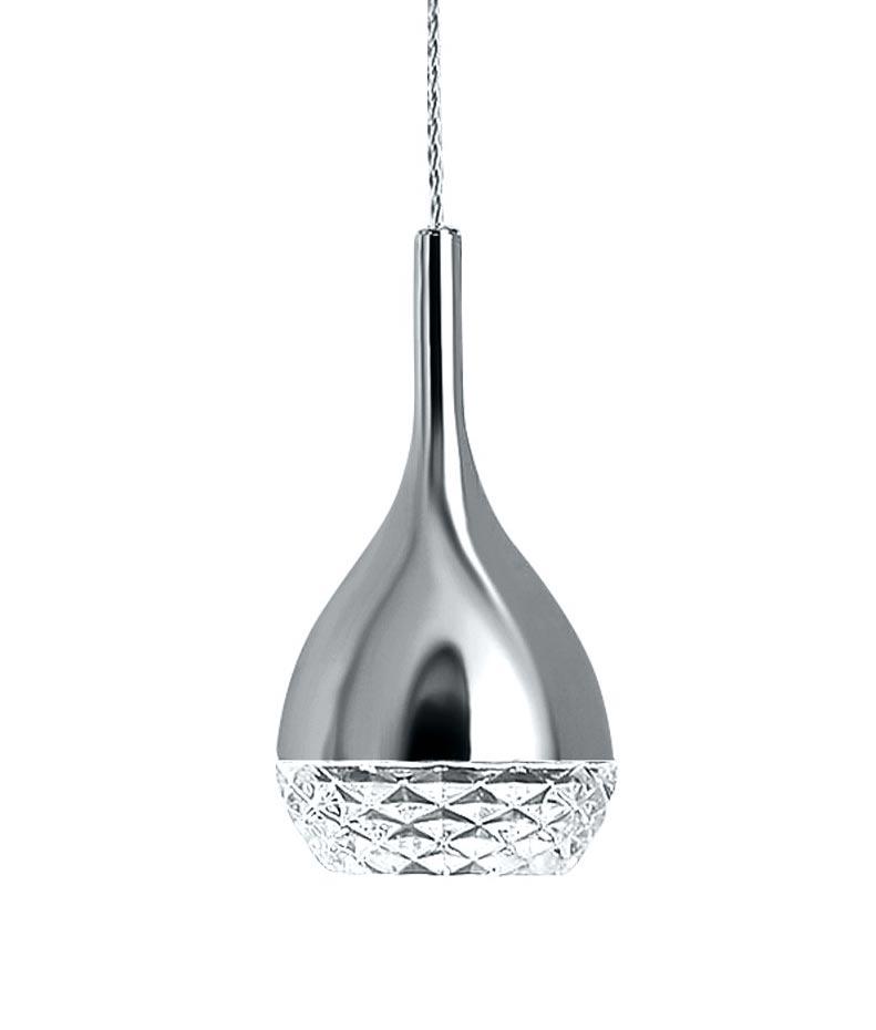Lámpara de techo cromo KHALIFA 1 luz