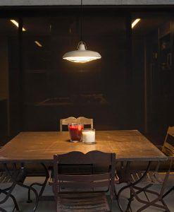 Lámpara de techo LED blanco PLEC ambiente