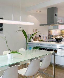 Lámpara de techo LED LUCE cromo ambiente