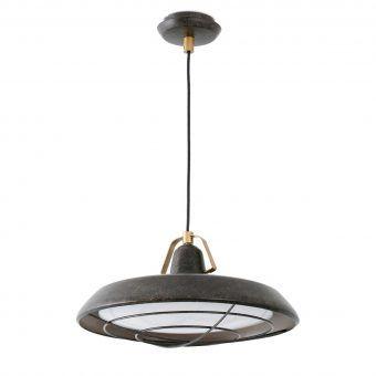 Lámpara de techo LED marrón PLEC