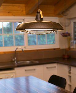 Lámpara de techo LED marrón PLEC ambiente