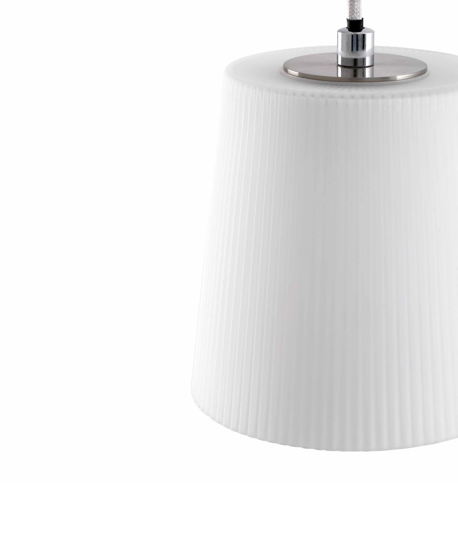 Lámpara de techo LED MIA blanca detalle