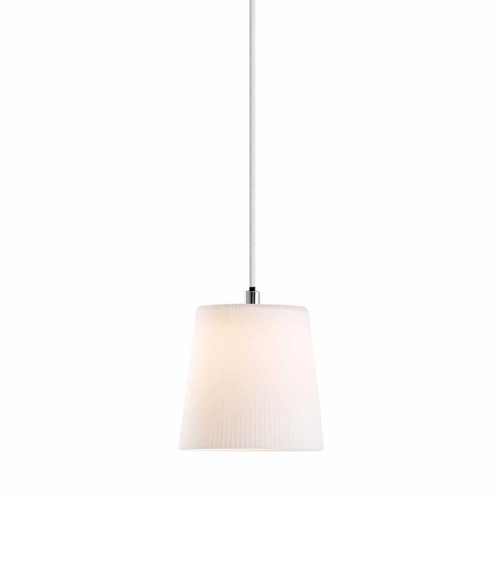 Lámpara de techo LED MIA blanca detalle 2