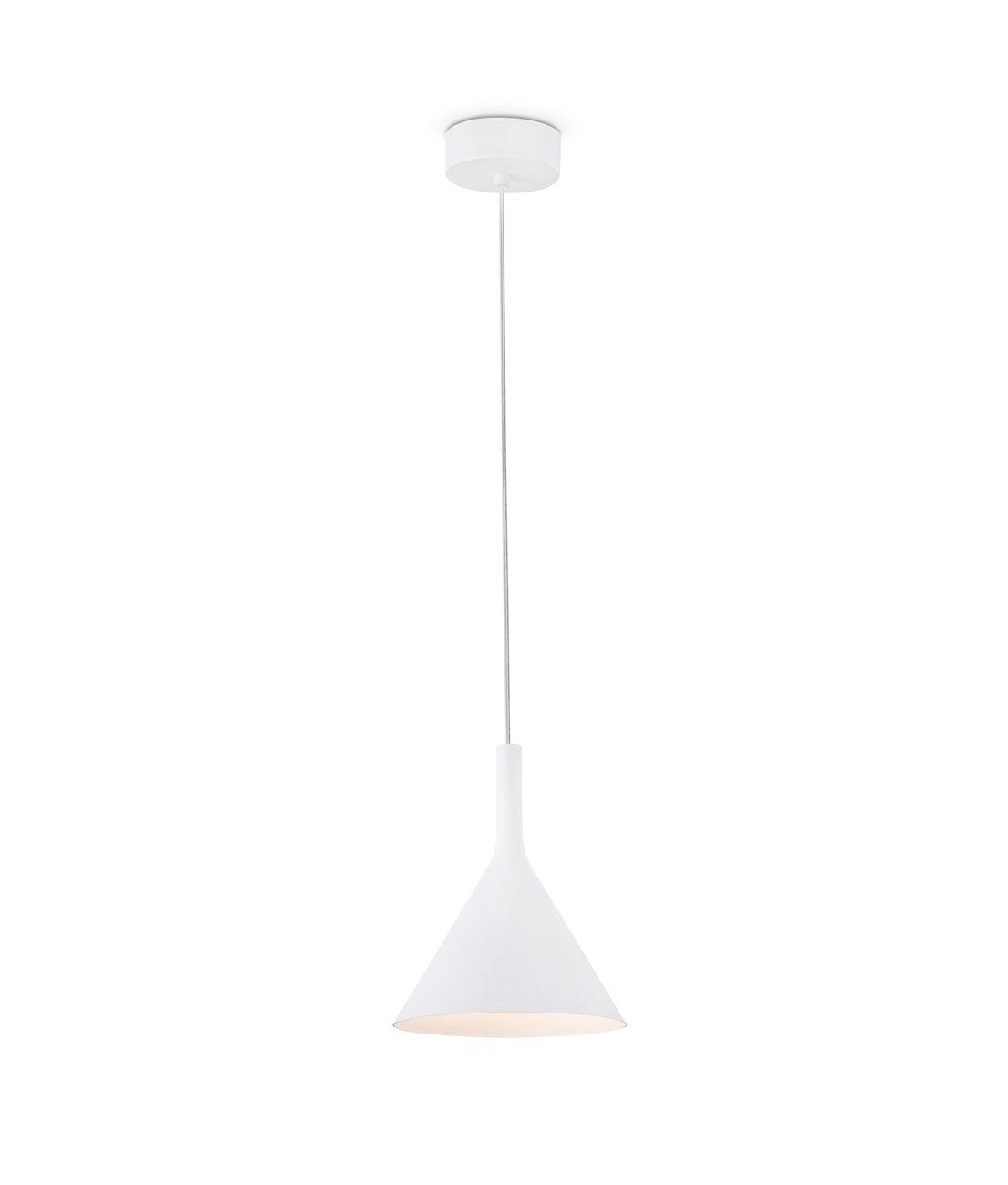 Lámpara de techo LED pequeña PAM blanco