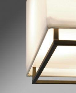 Lámpara de techo marrón VESPER detalle