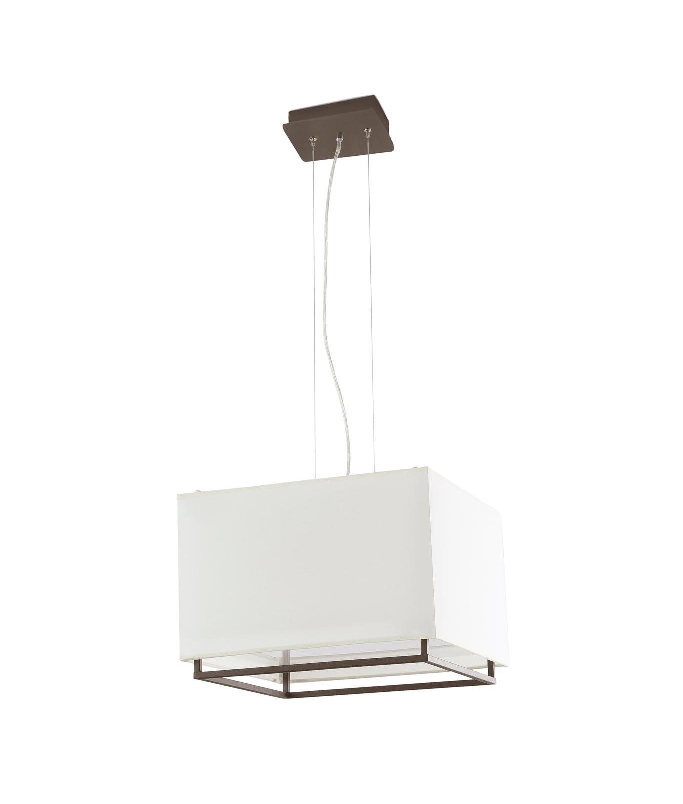 Lámpara de techo marrón VESPER