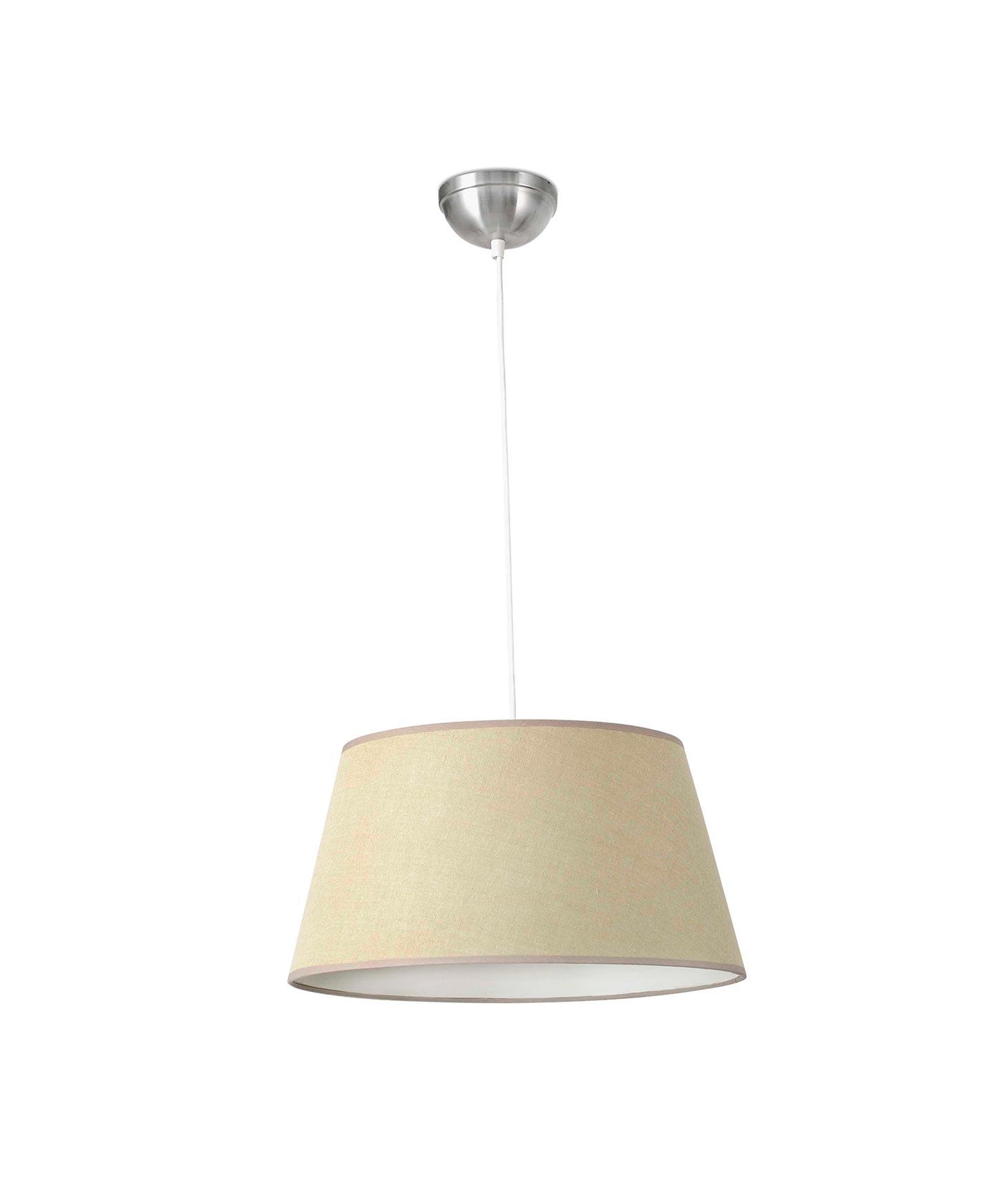 Lámpara de techo MITIC beige