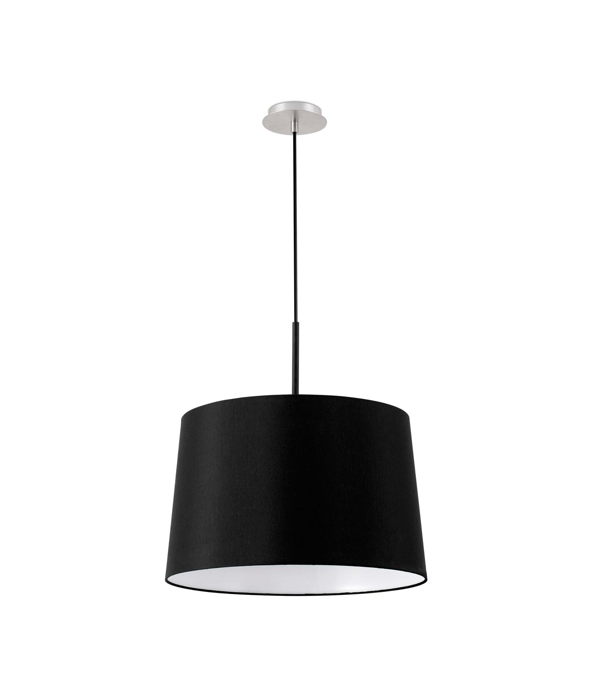 Lámpara de techo negra VOLTA