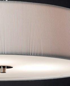 Lámpara de techo PROSA blanca detalle 2