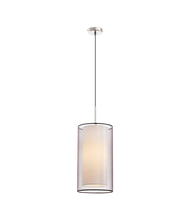 Lámpara de techo SABA níquel mate