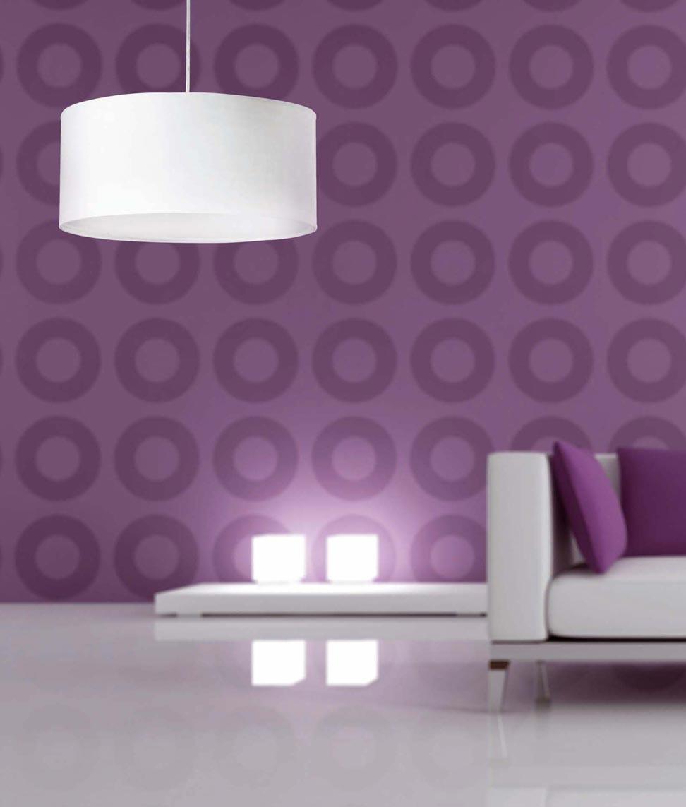 Lámpara de techo SEVEN blanca ambiente